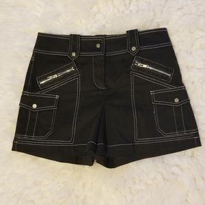 Cache black skort (2)